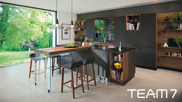 Moderne Einbauküchen Grau | kochkor.info